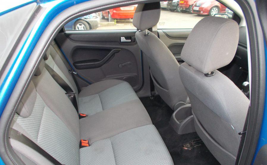 Ford Focus Sport Blue Passengers Seat.
