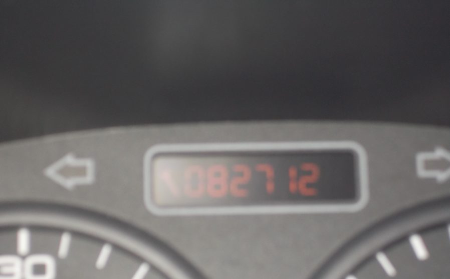 Peugoet 206 Green Speedometer.